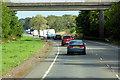 NX7460 : Accommodation Bridge over the A75 by David Dixon