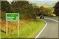 NX7865 : A75 towards Dumfries by David Dixon
