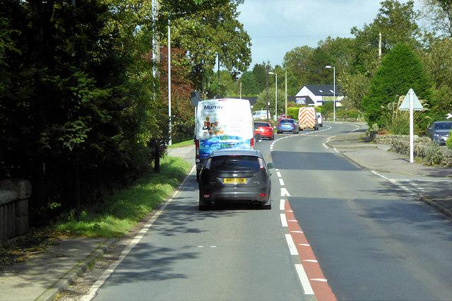 A75 near Springholm