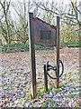 TG0314 : Aircrew crash memorial on North Tuddenham Common by Adrian S Pye