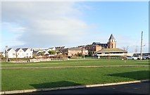 J3731 : View ENE across Castle Park, Newcastle by Eric Jones