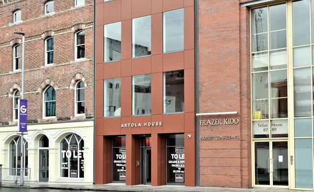 Artola House, Victoria Street, Belfast (January 2019)