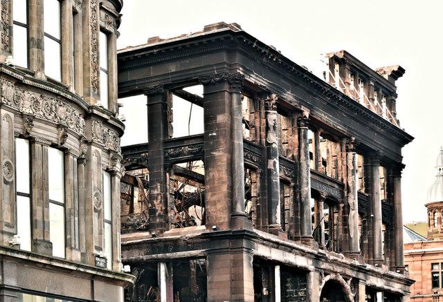 Primark (Bank Buildings) fire, Belfast - January 2019(3)