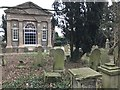 TF4510 : Rear view of the recently renovated chapel in The General Cemetery, Wisbech by Richard Humphrey