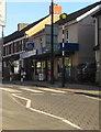 ST1490 : Zebra crossing, High Street, Llanbradach by Jaggery