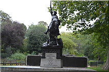 TQ2880 : Cavalry Monument, Hyde Park by N Chadwick