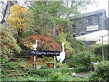 NY3704 : The Giggling Goose Cafe by Eirian Evans