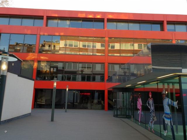 Kurt Geiger headquarters seen from Britton Street