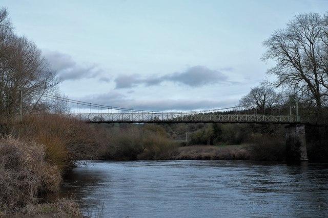 Foy suspension bridge