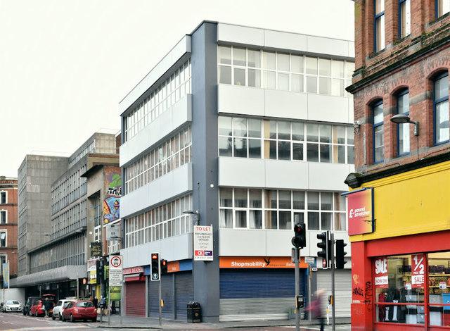 Nos 2-4 Queen Street, Belfast - January 2019(1)