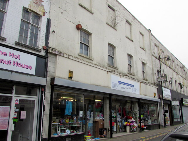 Old Woolies discount store, Pentrebane Street, Caerphilly