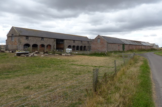 West Goswick Farm in Northumberland