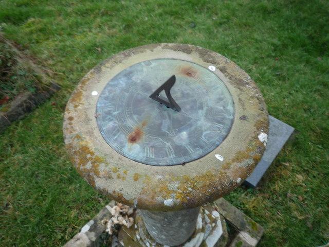 Sundial at St. Bartholomew's Church (Ashperton)