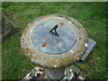 SO6441 : Sundial at St. Bartholomew's Church (Ashperton) by Fabian Musto