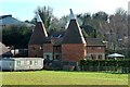TQ7361 : Oast House at Petts Farm, Burham by Oast House Archive
