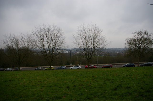 View south in Alexandra Park