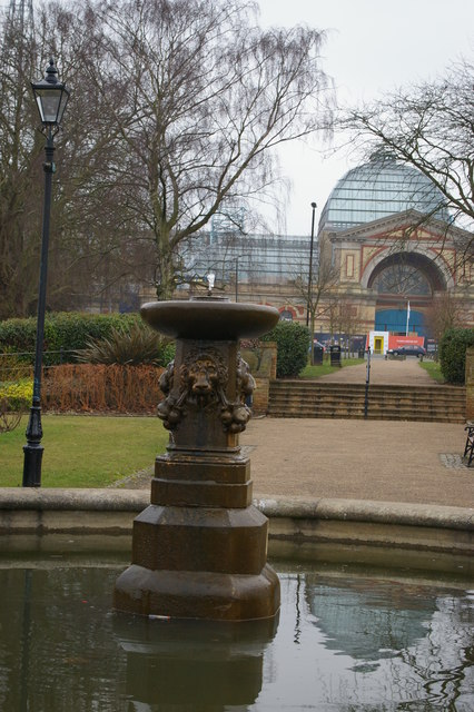 Alexandra Palace from the north-east