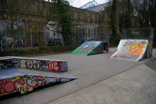 Skate park, Alexandra Park