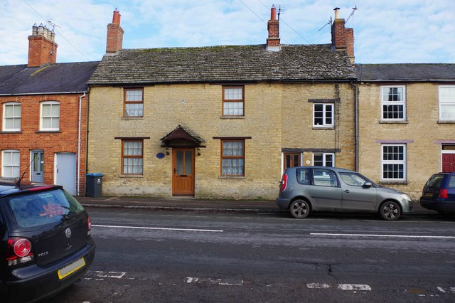 The former Plough (1), 7 Broad Street, Bampton, Oxon