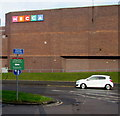 ST2995 : South side of Mecca Bingo, Cwmbran by Jaggery