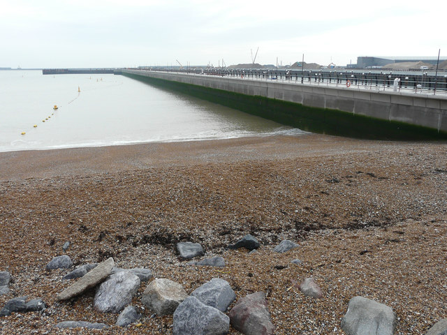 View from the Dover Sea Sports Centre