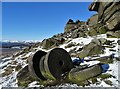 SK2582 : Stanage Millstones in Snow by Neil Theasby
