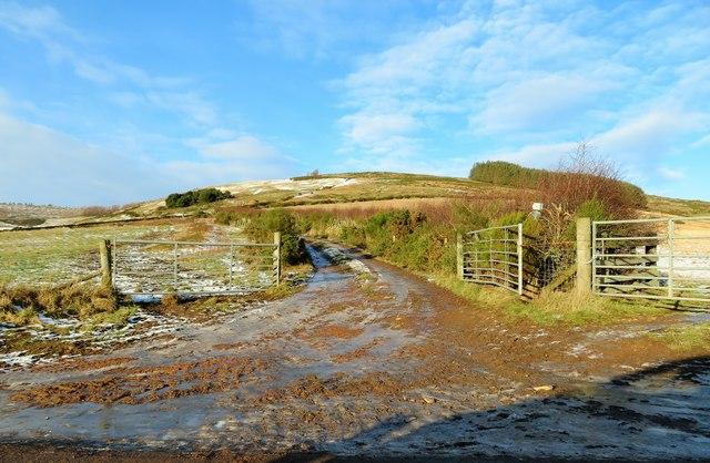 Blelack Hill Footpath
