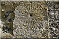 SU4878 : St Nicholas mass dial by Bill Nicholls