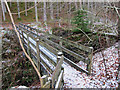 NH5866 : Bridge over Black Rock Gorge by Richard Dorrell