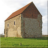 TM0308 : St Peter's Chapel, Bradwell on Sea by Roger Jones