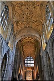 ST6316 : Sherborne Abbey: The nave by Michael Garlick