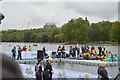 TQ2780 : Swimmers finishing by N Chadwick