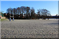 SE3138 : Frost on the Pitches of Roundhegians RUFC by Chris Heaton