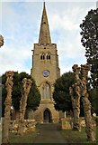 SP4966 : St Peter's, Grandborough by AJD