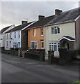 ST1788 : Orangish house, Church Street, Bedwas by Jaggery