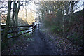 SE2425 : Kirklees Way towards Timothy Lane by Ian S