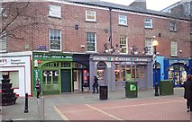 J0407 : Businesses at the southern end of Earl Street, Dundalk by Eric Jones