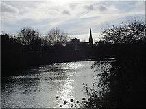 SK7953 : Newark in silhouette by Jonathan Thacker