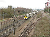 TQ3187 : East Coast Main Line at Finsbury Park by Malc McDonald
