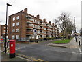 TQ3087 : Housing estate near Finsbury Park by Malc McDonald