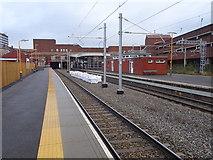 SP0198 : Walsall railway station, West Midlands by Nigel Thompson