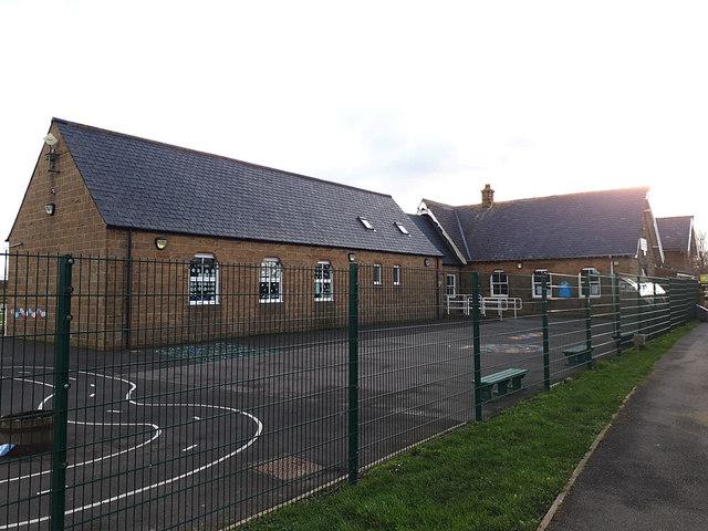 Village school, Stainsacre by Stephen Craven