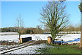 SP7306 : Bridge in a Field by Des Blenkinsopp