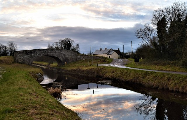 Grand Canal Killeen near Daingean, Co. Offaly