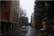 TQ3479 : View down Marine Street from Jamaica Road by Robert Lamb