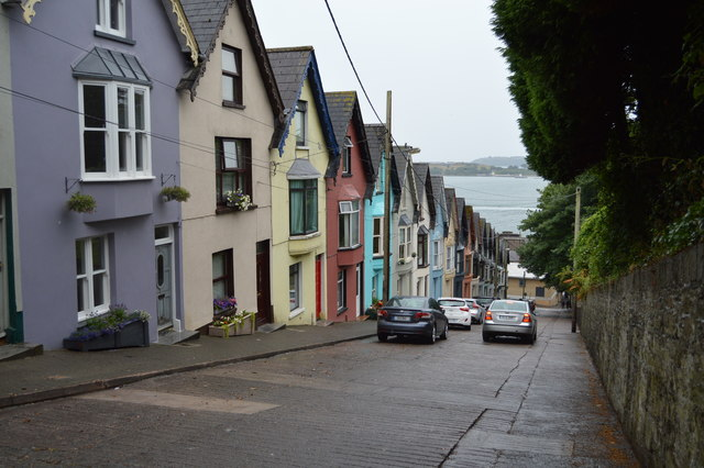 Colourful houses, West View