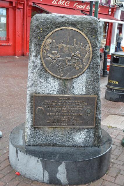 Titanic Memorial, Cobh