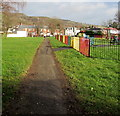 ST1788 : Path through Bedwas Park, Bedwas by Jaggery