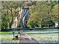 SH7956 : Betws-y-Coed, St Mary's Church by David Dixon