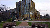 SP0483 : The Main Library from University Square, University of Birmingham by Phil Champion